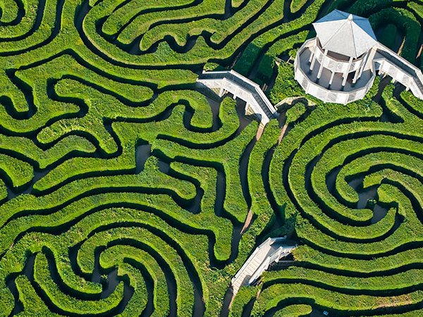 Longleat Englage Aerial Photo