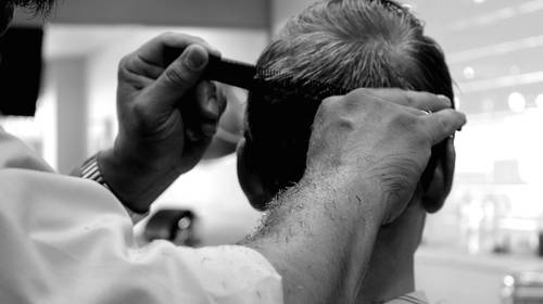 barbershop haircut