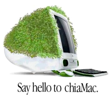 Chia Pet - Say Hello to Chia Mac