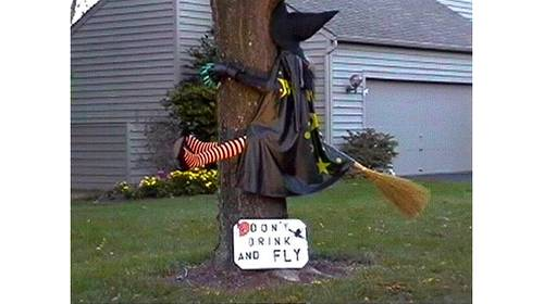 dont drink and fly halloween fun