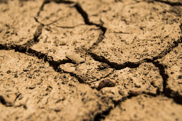 cracked dry earth drought