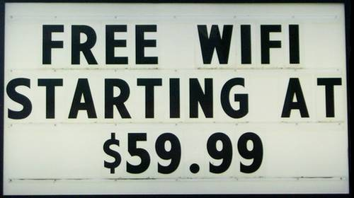 free wifi starting at 59.99