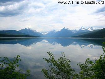 Lake at Glacier National Park Montana