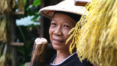 older woman in china