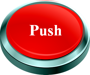 push the red off button