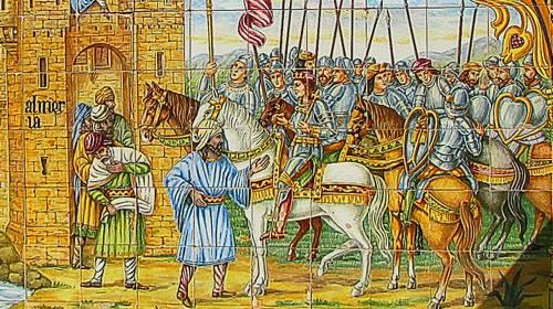 king and royal hunting entourage